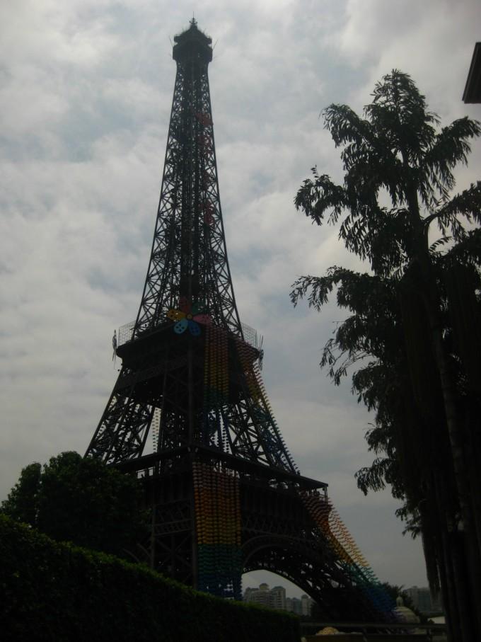 标性建筑埃菲尔铁塔