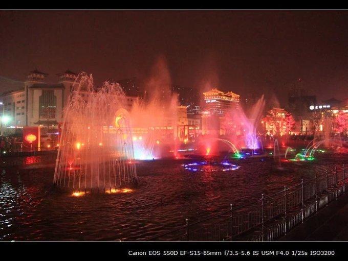 大雁塔春节高清照片