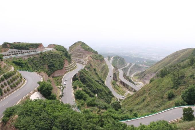 最美盘山公路,西安旅游攻略 - 蚂蜂窝