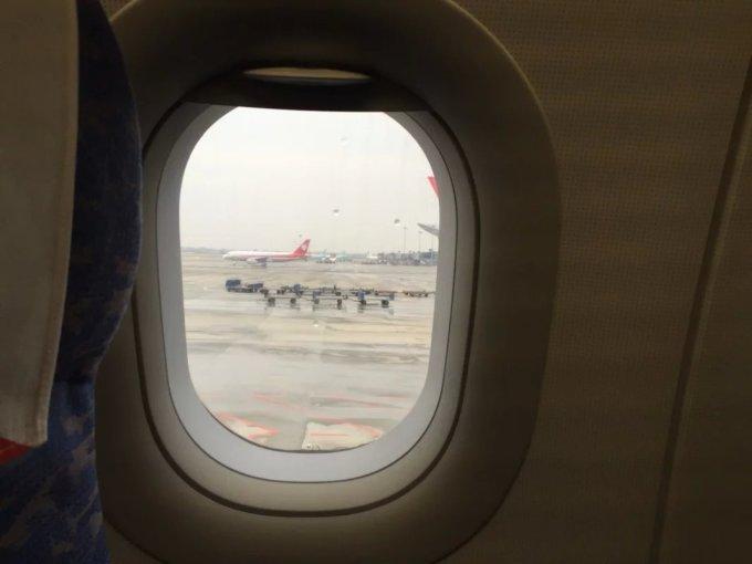 (第一次坐飞机