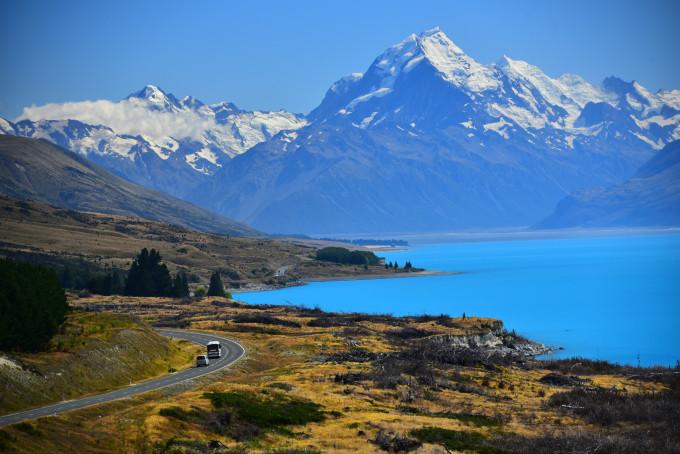 新西兰--风景画中的行走(2016春节二十一天自驾)