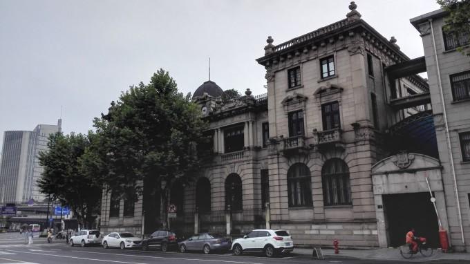 杭州定安路欧式古典建筑