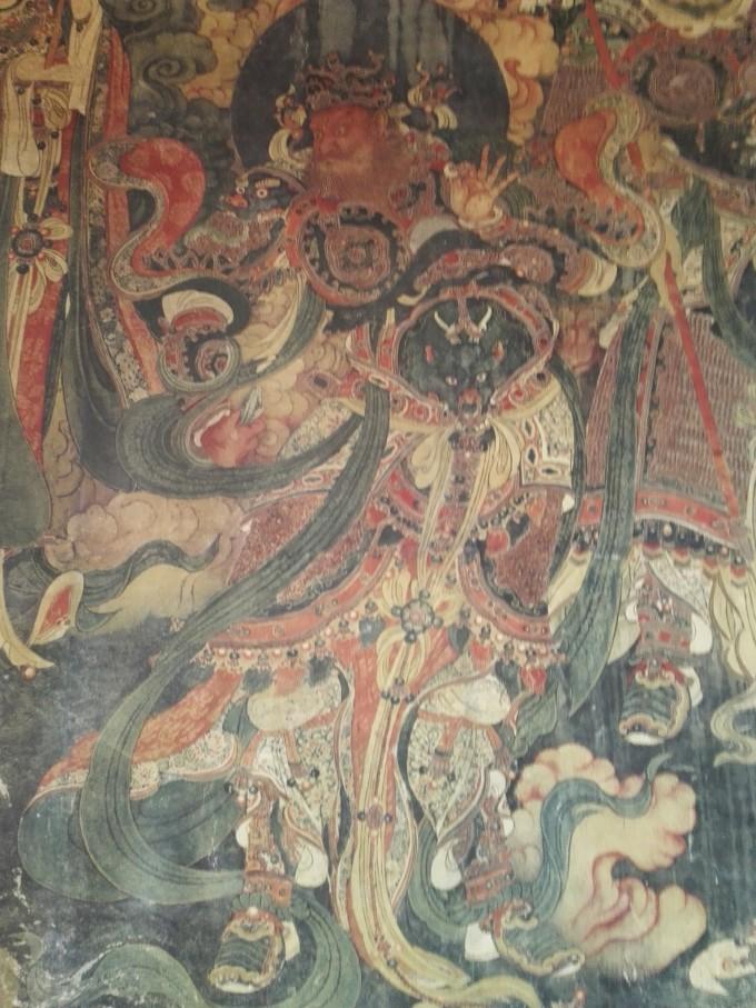 中医馆手绘壁画