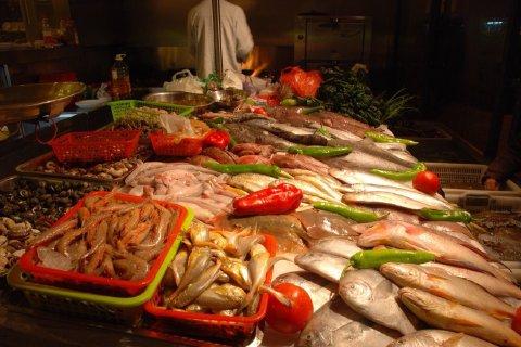 清真海鲜大排档