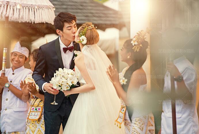 像明星一样在巴厘岛结婚
