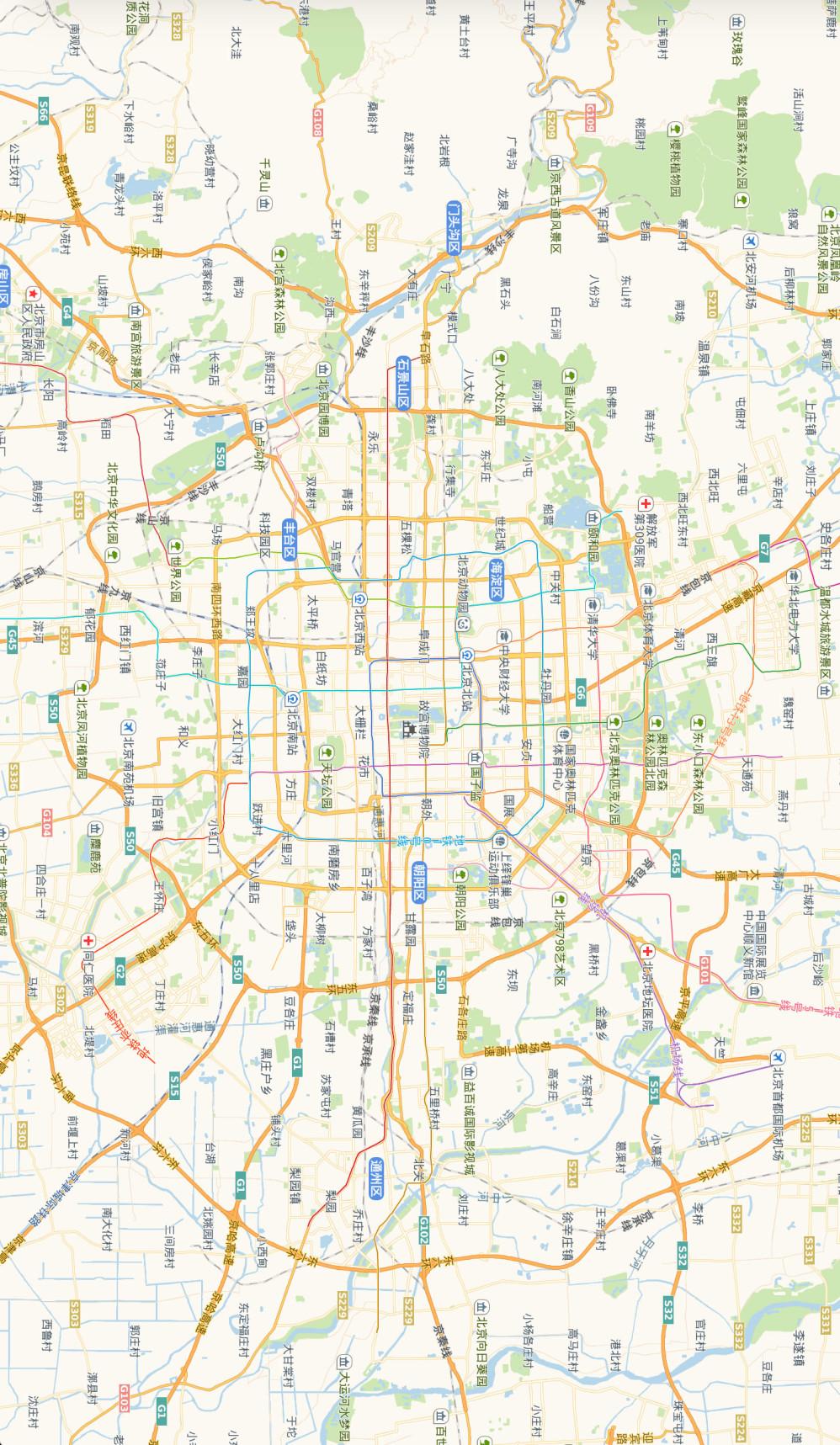 北京市地图.by 高德地图