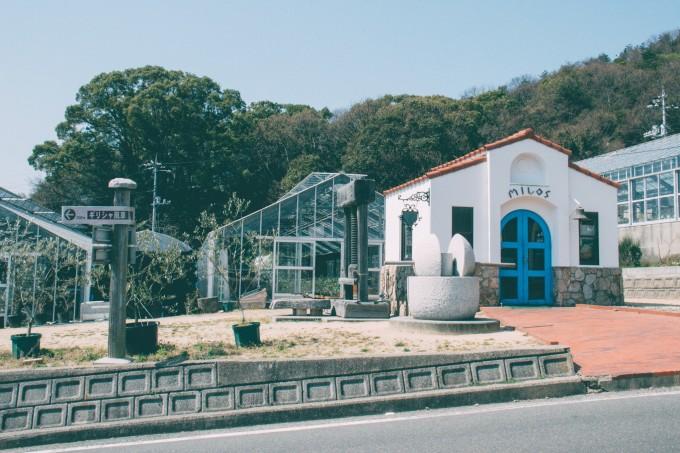 小豆岛橄榄公园的建筑以欧式风格为主