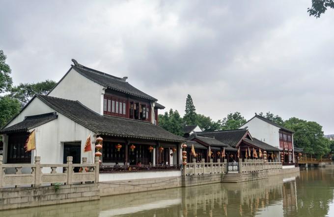 韩国古楼好运风景图片